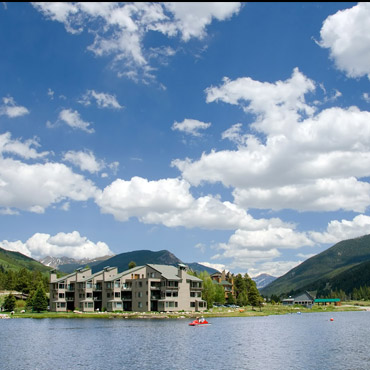 Keystone Lake in summer Peak State Properties
