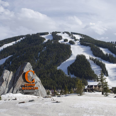COPPER MOUNTAIN sign Peak State Properties