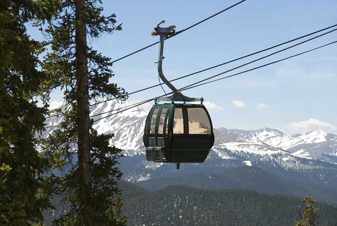 Gondola at Keystone Ski Resort, Colorado Peak State Properties