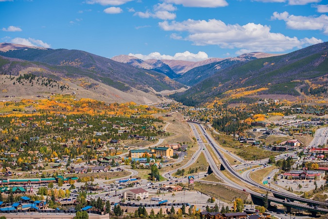 Fall in silverthorne and dillon CO